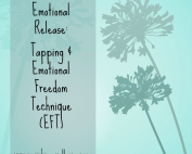 dandelion graphic with text for blog