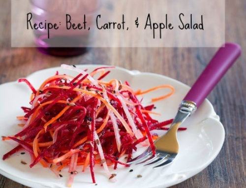 Recipe: Beet, Carrot, & Apple Salad