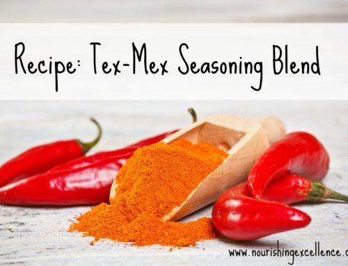 Recipe: Tex-Mex Seasoning Blend