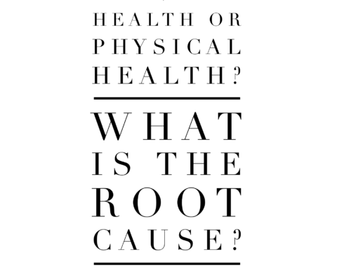 Is it mental health or physical health? What is the root cause?